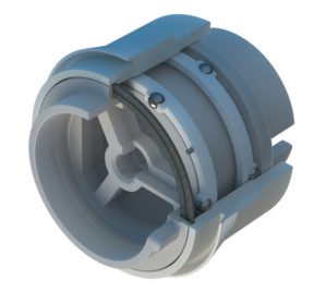 BNL plastic sealed bearing image with cut away to show internal components